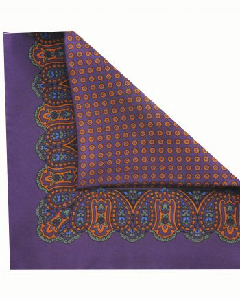 Jay puple pocket square