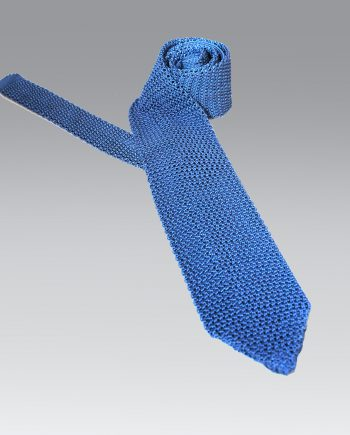 Lenno-–-Italian-Handmade-Silk-Knitted-Tie-in-Airforce-Blue