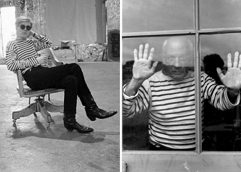 Warhol stripe