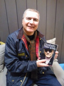 Mark Baxter with book