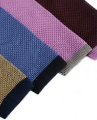 Varenna silk knitted ties