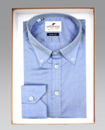 Alight blue button down square boxed2
