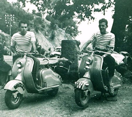 scooter stripes