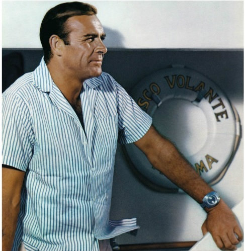 James-Bond-007-Wearing-Breitling-Top-Time-in-Thunderball-1965