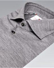 Grey jersey shirt angle