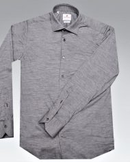 Grey jersey shirt front