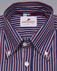 Striepd button down shirt 3