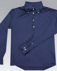 navy blue popover full front