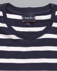 Navy & White stripe tee 2