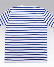 White and blue stripe Tee 4