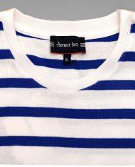 white & blue stripe Tee2
