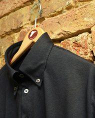 Black popover shirt hanger