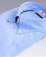Light Blue popover shirt angle