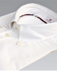 White popover shirt angle