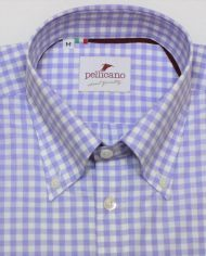 Lilac button down front
